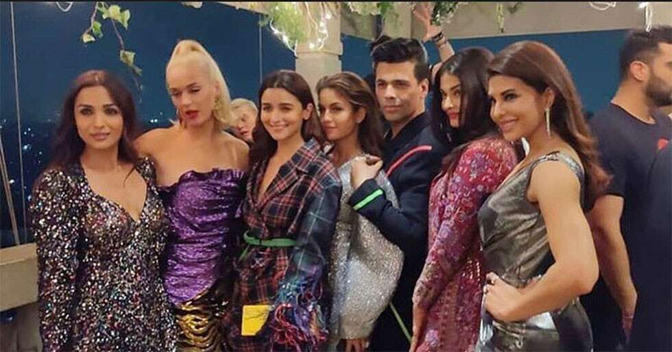 Bollywood's best party with Katy Perry at Karan Johar's bash