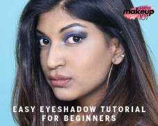 Let sparks fly with this electric eye makeup