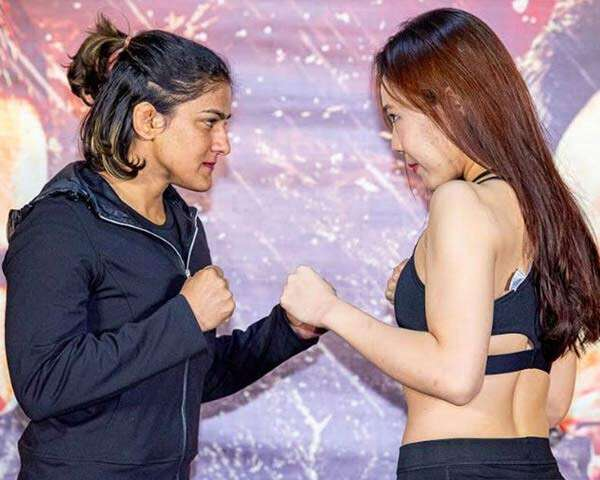 Ritu Phogat knocks out Kim Nam-Hee to win MMA debut