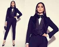 Style black like Sonam Kapoor Ahuja