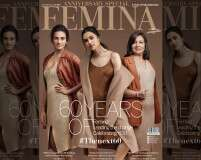 The present is female. Check out Femina's 60th anniversary cover