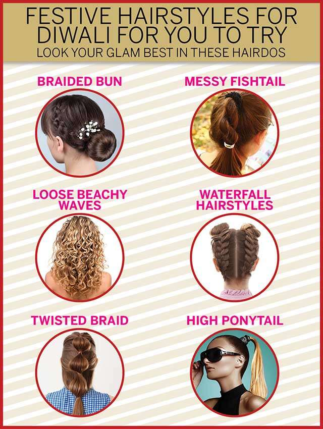 Festive hairstyles for Diwali