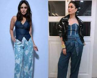 Ace denim on denim style just like Kareena Kapoor Khan