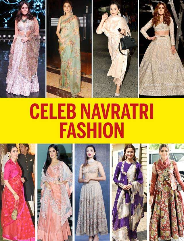 Celebrities Navratri Outfit