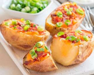 Healthy ways to cook potatoes