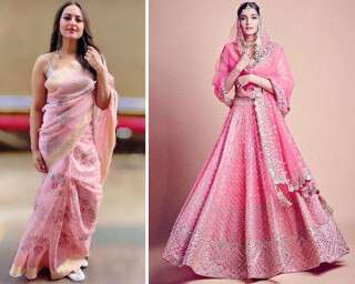 Go pink for your bridal trousseau!
