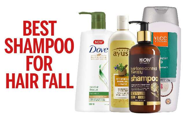 The Best Shampoos for Hair Fall Infographic