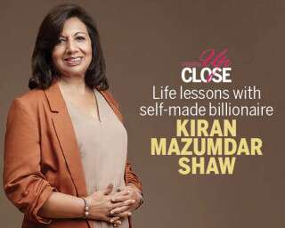Life lessons with self-made billionaire Kiran Mazumdar Shaw