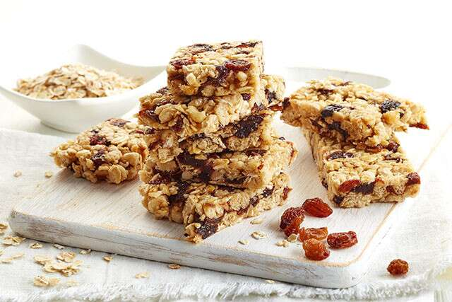 Weight gain diet - Cereal snack bars