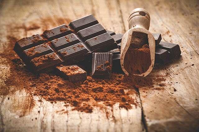 Régime de gain de poids - chocolat noir