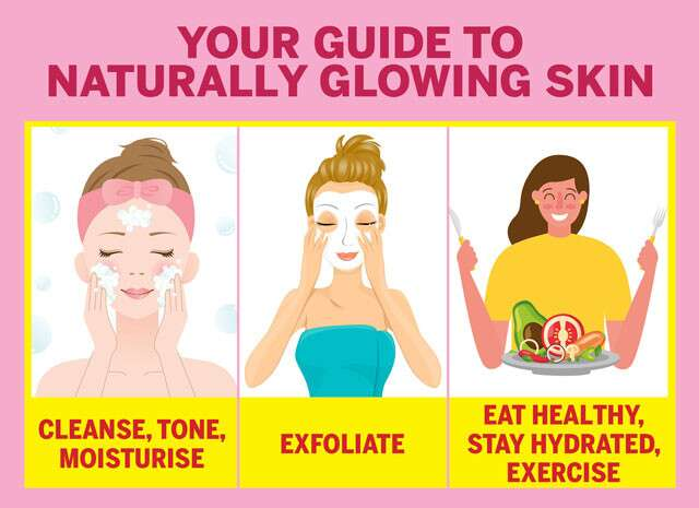 Easy Natural Tips For Glowing Skin Femina In