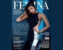 Alia Bhatt makes her debut on Femina cover