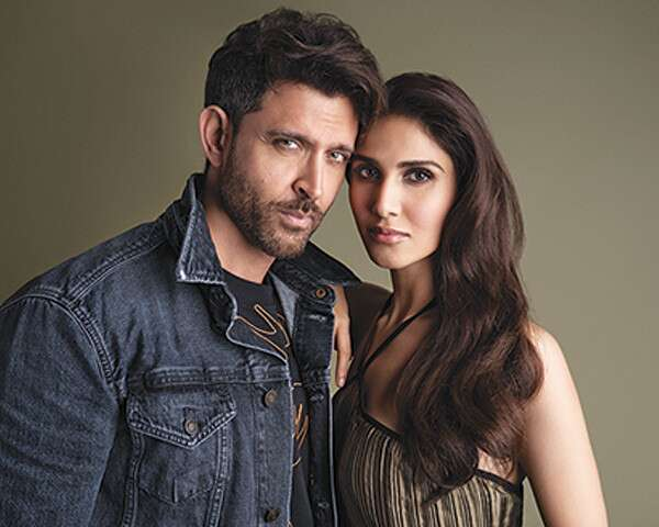 Behind the scenes with Hrithik Roshan and Vaani Kapoor