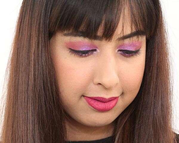 Flirty purple cut crease eyeshadow tutorial