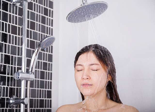 Rinse Your Hair With Cold Water After Your Shower