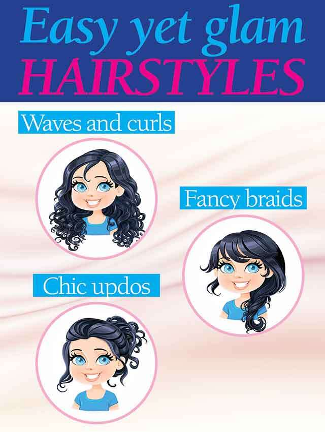 Your Guide To Simple Hairstyle Step By Step Femina In