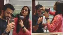During The Lockdown, Sonam Kapoor Turns Hairstylist For Husband Anand Ahuja