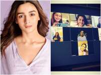 Quarantined Alia Bhatt Catches Up With Her Girl Gang