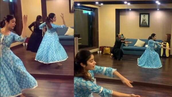 Janhvi Kapoor Channels Waheeda Rehman, Dancing To 'Piya Tose Naina Laage'