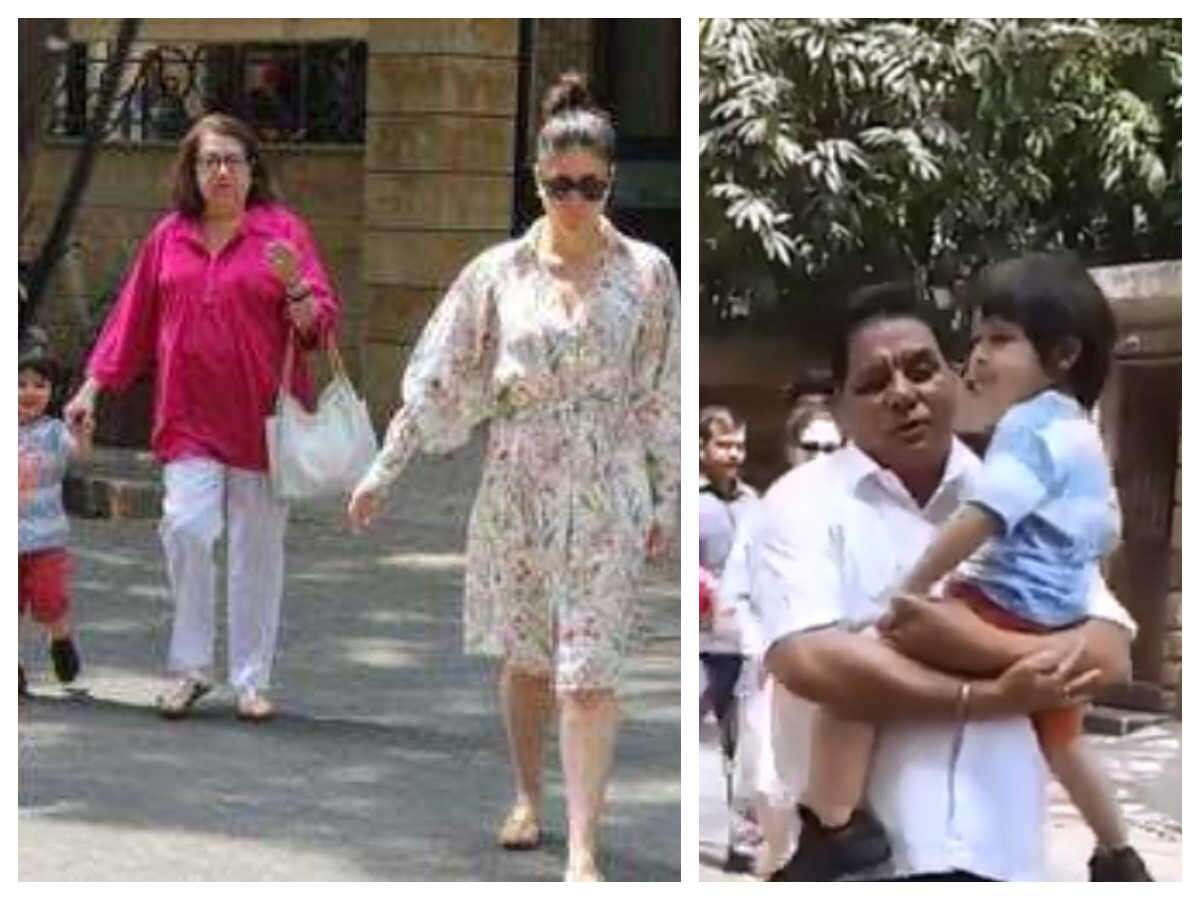 Taimur Ali Khan Calls The Paparazzi 'Aye, Bhai Log'