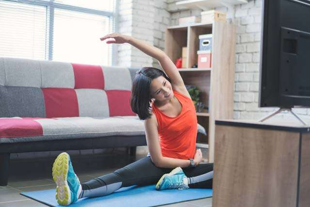 Can Home Exercises Reduce Stress And Consequently Help In Weight Loss