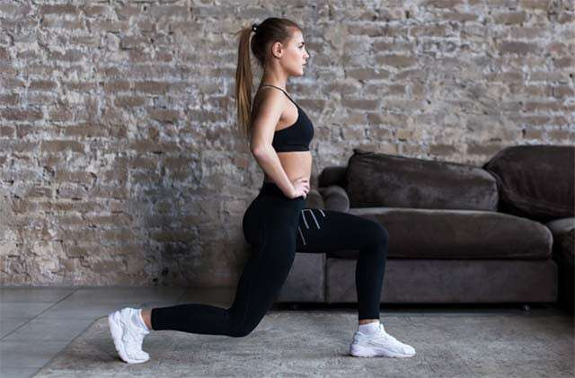 Can Lunges Be A Part Of Home Exercises For Weight Loss
