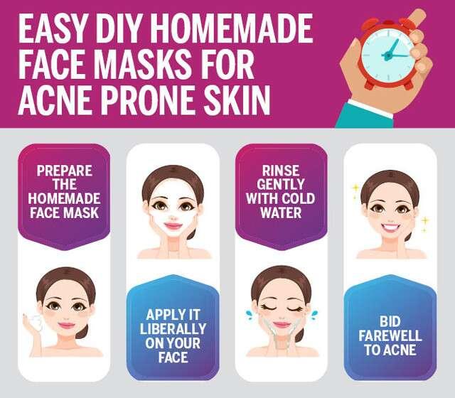 Easy Diy Homemade Face Masks For Acne