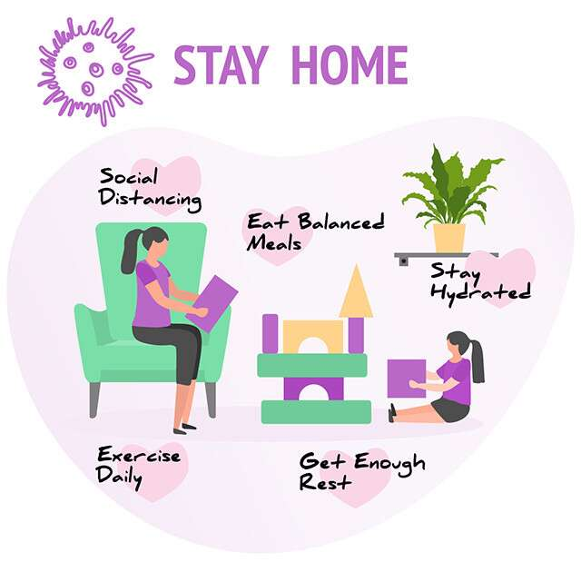 Here's How To Stay Healthy At Home During Lockdown | Femina.in