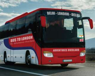 Call Your Girlfriends! In 2021 You Can Travel From Delhi To London In A Bus