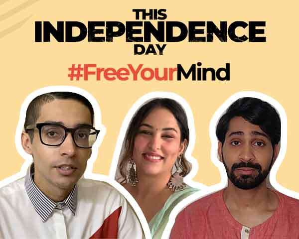 #FreeYourMind This Independence Day