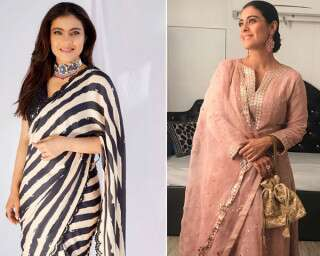 5 Festive Outfits From Kajol's Closet That You'd Want To Own RN