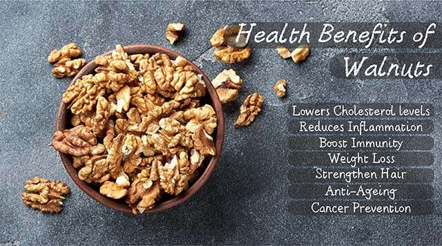 Healing Powers Of Walnuts Benefits for Health | Femina.in