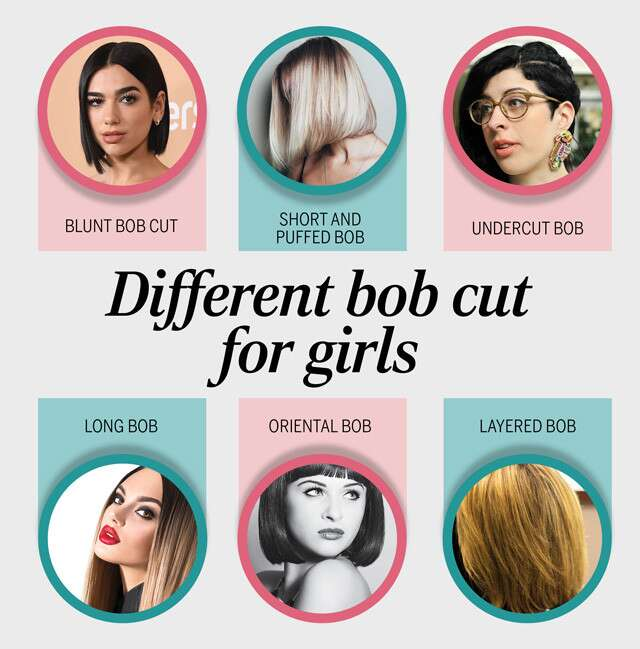 Modern Edgy And Bold Different Bob Cuts For Girls Femina In