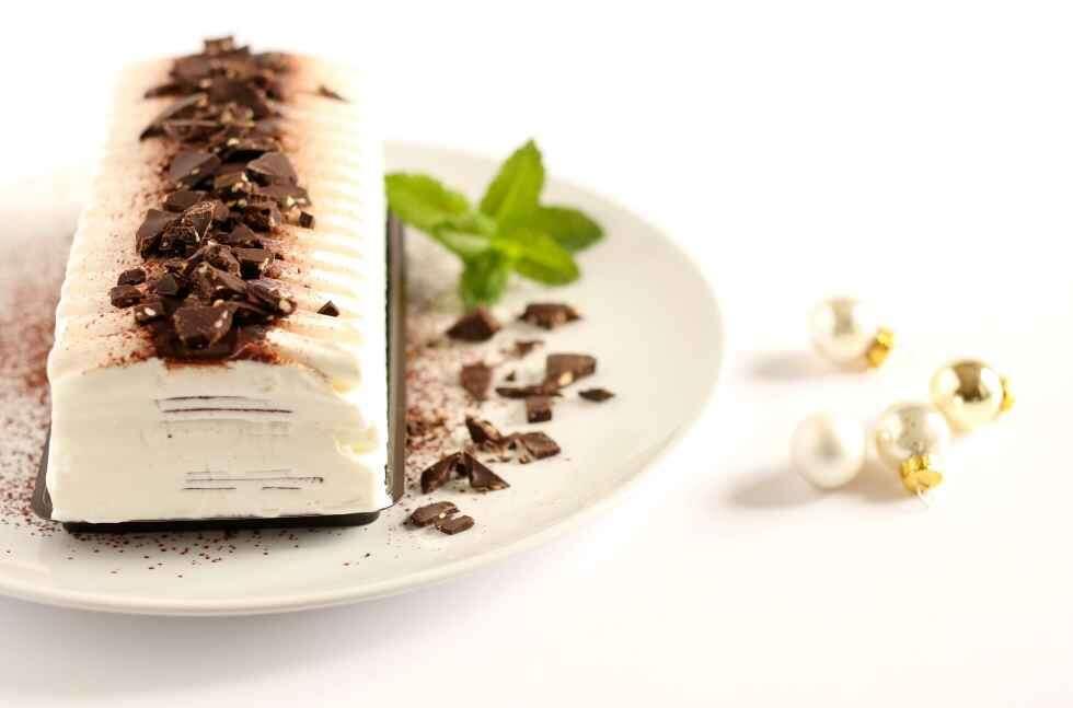 Christmas Ice Cream Yule Log