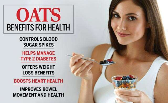 Oats Benefits For Health Infographic
