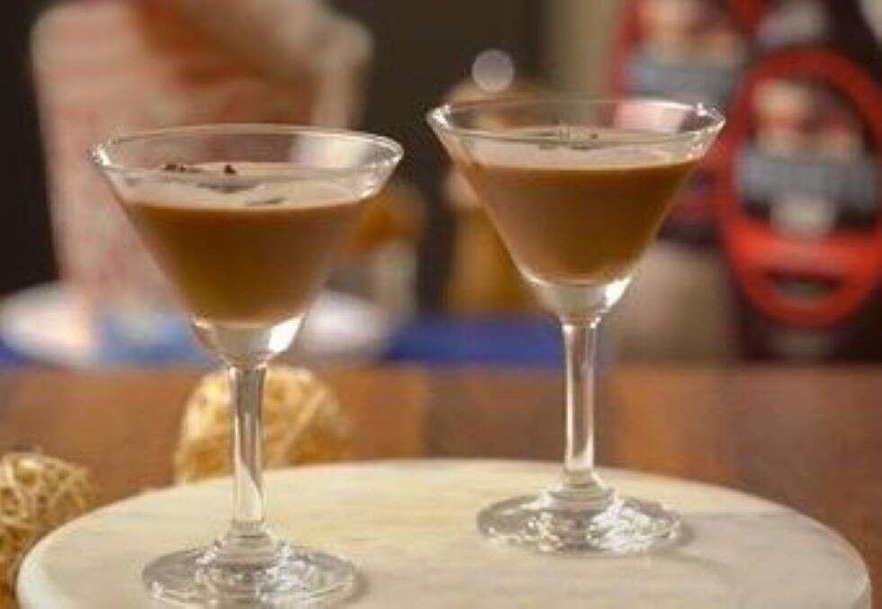 chocolate christmas choco martini