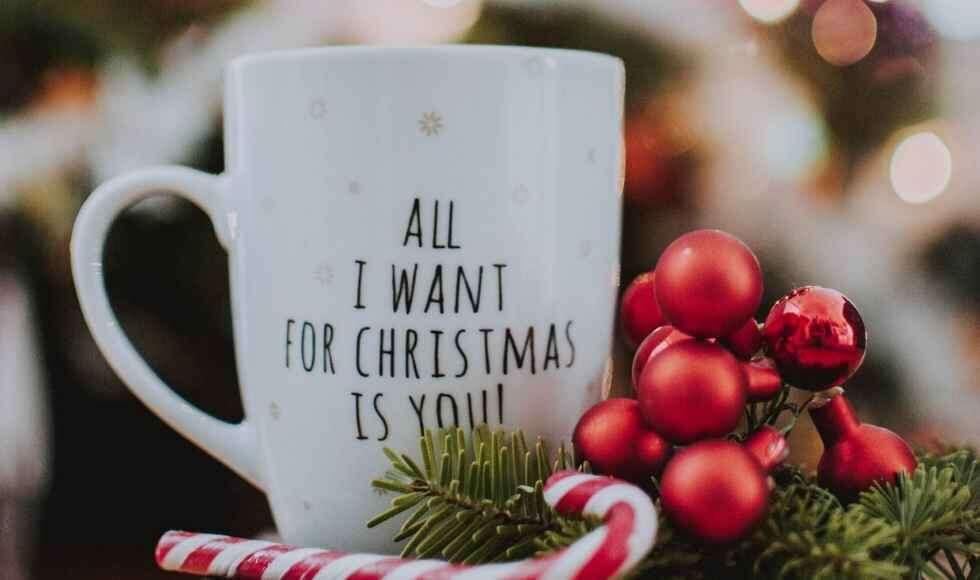 Christmas and coffee