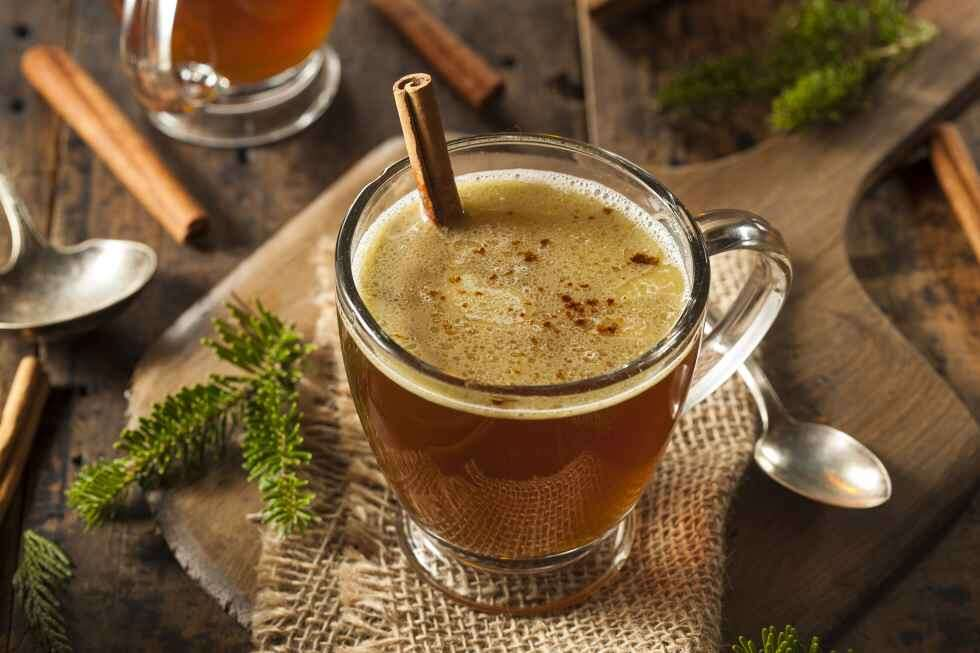 Christmas Hot Buttered Rum