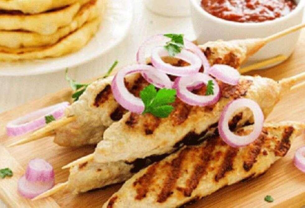 Dal Seekh kebabs