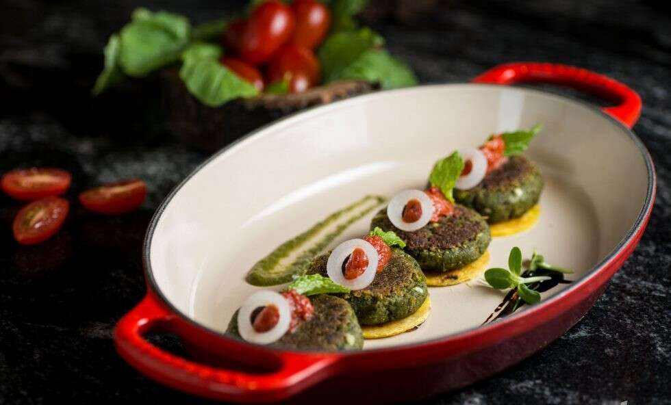 Hare Gobi ki Kebabs