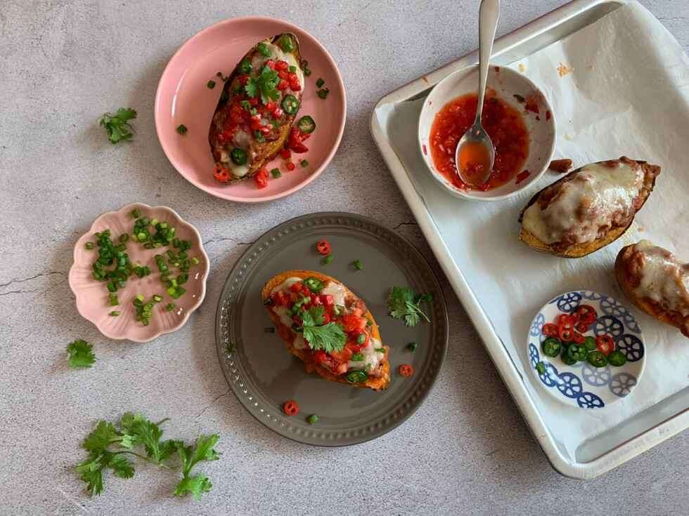 Mexican Sweet Potato Skins - Neha Shah 2