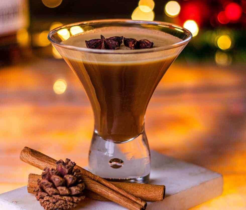 Winter Cocktails - Hot Buttered Bourbon