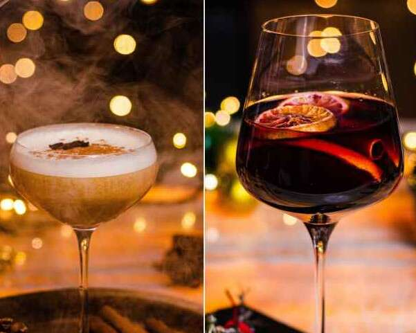 Winter Cocktails- the Leela Ambience Convention Hotel