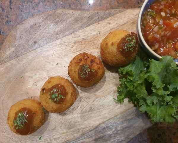 Achaar Arancini - Chef Rohit Chadha
