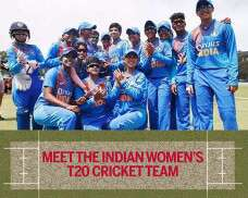Meet The Indian Cricket Team, All Set To Conquer The ICC Women's T20 WC