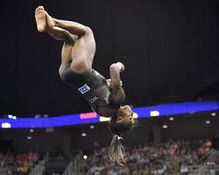 The Only Video You Need To Watch Today Is Simone Biles Doing An ICONIC Flip