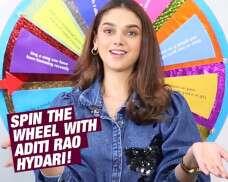 NFBA2020: Aditi Rao Hydari Plays Spin The Wheel!