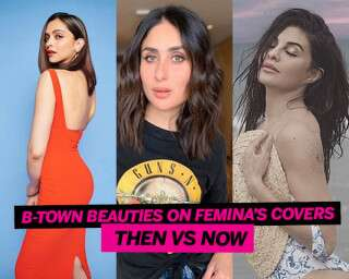 B-Town Beauties On Femina's Covers: Then VS Now