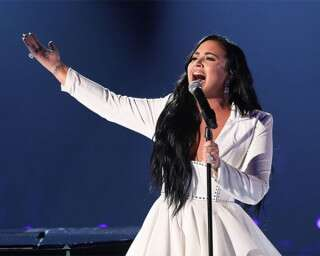Demi Lovato Makes An Emotional Comeback At The Grammys After Her Overdose
