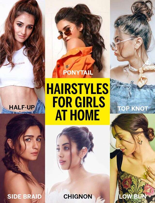 Easy Hairstyles For Girls At Home Femina In